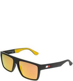 Солнцезащитные очки с логотипом бренда Tommy Hilfiger