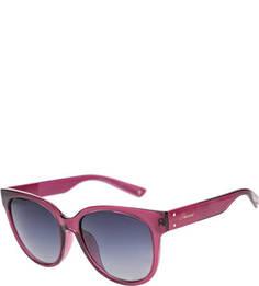 Солнцезащитные очки в пластиковой оправе цвета фуксии Polaroid