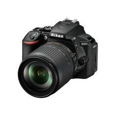 Зеркальный фотоаппарат NIKON D5600 kit ( 18-105 VR AF-S f/3.5-5.6G), черный