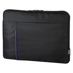 """Чехол для ноутбука 15.6"""" HAMA Cape Town, черный/синий [00101906]"""