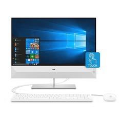 "Моноблок HP Pavilion 24-xa0011ur, 23.8"", Intel Core i7 8700T, 16Гб, 16Гб Intel Optane, 2Тб, NVIDIA GeForce GTX 1050 - 4096 Мб, Windows 10, белый [4uc00ea]"