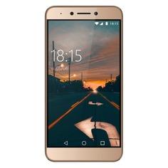 Смартфон BQ Twin Pro 32Gb, 5517L, золотистый