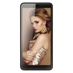 Смартфон BQ Silk 5520L, коричневый