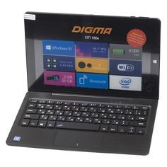 Планшет DIGMA CITI 1804, 2GB, 32GB, Windows 10 Home черный [cs1069ew]
