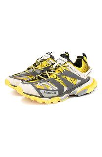 Комбинированные кроссовки Track на шнуровке Balenciaga