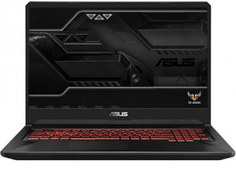 Ноутбук ASUS ROG FX705GD-EW081 Black 90NR0112-M01660 (Intel Core i5-8300H 2.3 GHz/8192Mb/1000Gb+128Gb SSD/nVidia GeForce GTX 1050 4096Mb/Wi-Fi/Bluetooth/Cam/17.3/1920x1080/DOS)