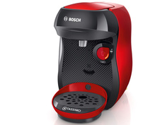 Кофемашина Bosch Tassimo Happy Red-Black Tas1003