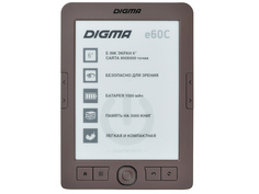 Электронная книга Digma e60C Brown