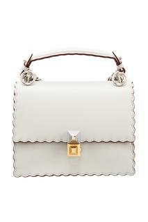 Кожаная сумка через плечо Fendi