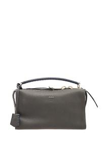 Кожаная сумка с широким ремнем Fendi
