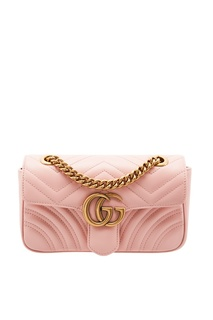 Нюдовая сумка GG Marmont Gucci