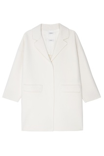 Белое шерстяное пальто P.A.R.O.S.H.