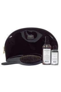 Большая черная косметичка ограниченного выпуска Balmain Paris Hair Couture