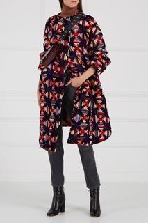 Стеганое пальто из бархата Tao Isabel Marant