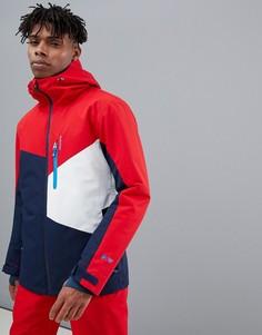 Красня горнолыжная куртка Protest Yoyo - Красный