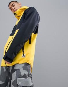 Куртка колор блок желтого и черного цвета Wear Colour - Желтый