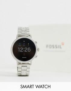 Смарт-часы Fossil FTW6013 Gen 4 Q Venture - 40 мм - Серебряный