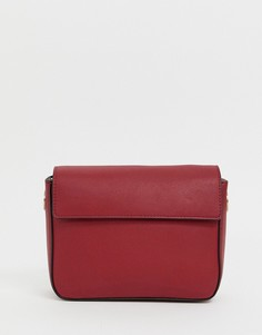 Маленькая сумка на плечо с цепочкой Calvin Klein - Красный