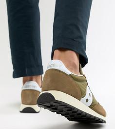 Зеленые кроссовки в винтажном стиле Saucony Jazz Оriginal - Зеленый