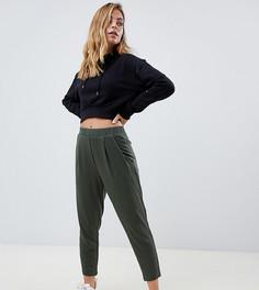 Трикотажные брюки галифе ASOS DESIGN Petite Ultimate - Зеленый