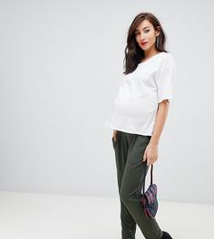 Трикотажные брюки галифе ASOS DESIGN Maternity Ultimate - Зеленый
