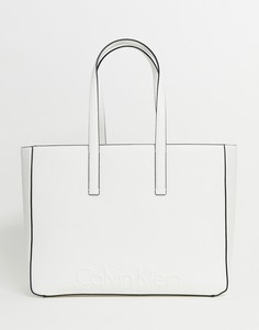 Большая сумка для покупок Calvin Klein - Белый