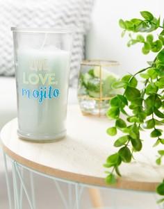 Свеча с ароматом коктейля мохито Candlelight - Мульти