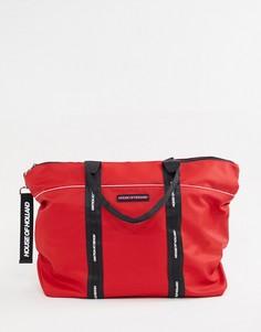 Сумка-шоппер с логотипом House of Holland - Красный