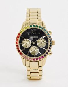 Мужские наручные часы с золотым браслетом