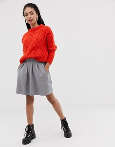 Расклешенная юбка Moves By Minimum - Серый