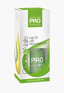 Масло для ногтей и кутикулы Mollon Pro OIL WITH MICROCAPSULES 15 мл