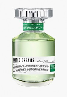 Туалетная вода United Colors of Benetton United Dreams Live Free 50мл