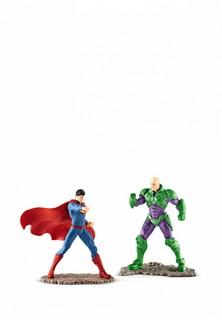 Набор игровой Schleich Супермен против Лекс Тютора