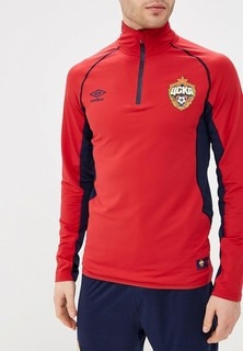 Олимпийка Umbro CSKA EDGE KNITTED 1/4 ZIP TRAINING TOP