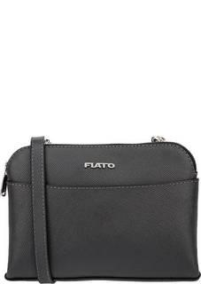 Маленькая кожаная сумка с двумя отделами Fiato
