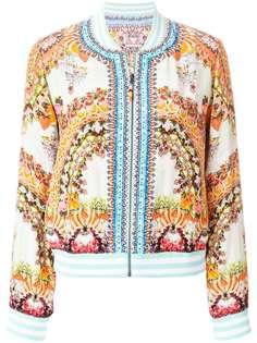 Camilla куртка-бомбер с вышивкой