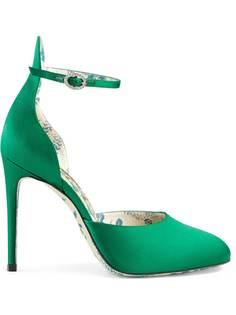 Gucci атласные туфли-лодочки