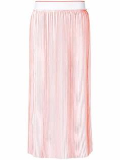 Victoria Victoria Beckham плиссированная юбка-миди