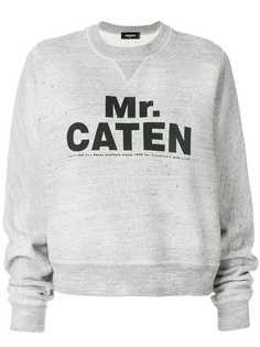 Dsquared2 толстовка с принтом Mr Caten