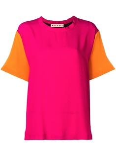 Marni блузка с короткими рукавами