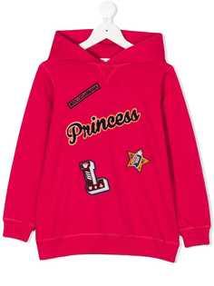 Dolce & Gabbana Kids толстовка с капюшоном Princess