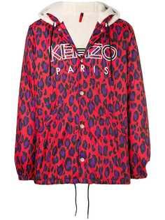 Kenzo леопардовая парка