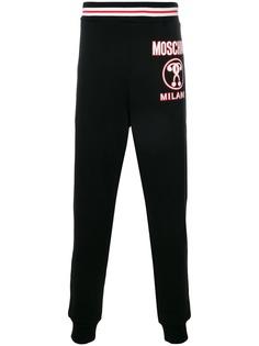 Moschino спортивные брюки с логотипом