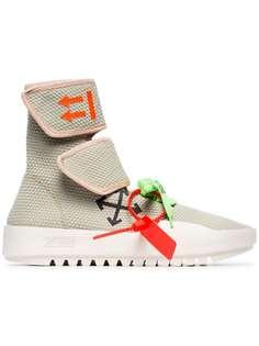 Off-White кроссовки на липучках