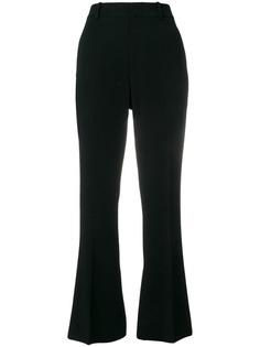 Gucci укороченные расклешенные брюки