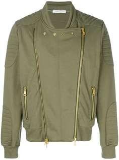 Pierre Balmain куртка-бомбер с двумя молниями