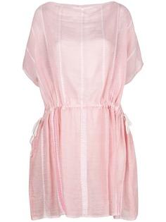 Lemlem полосатое пляжное платье