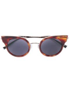 Max Mara солнцезащитные очки с эффектом черепашьего панциря