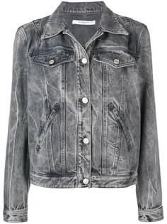 Givenchy джинсовая куртка с заклепками