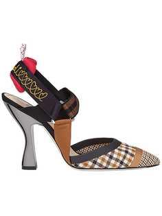 Fendi туфли-лодочки Colibri с открытой пяткой